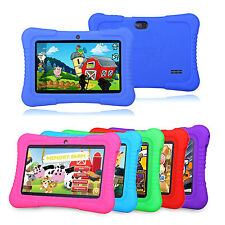 "2016 7"" Google Android 8GB Quad Core HD Display WIFI Camera Tablet For Kids Game"
