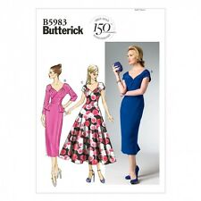Free UK P&P - Butterick Ladies Easy Sewing Pattern 5983 Evening Dresses (...