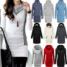 Womens Winter Hooded Sweatshirt Casual Hoodies Pullover Jumper Coat Jacket Tops