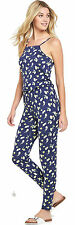 South Jersey Floral Square Neck Jumpsuit