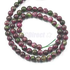 6/8/10mm Round Spacer Loose Gemstone Beads Strand for Jewelry Making