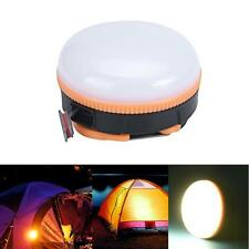 AAA/Rechargeable Portable Camping Hiking Tent Lantern Lamp Fishing Outdoor Light
