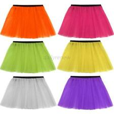 Womens Ladies Girl Tutu Skirt Hen Night Tutu Fancy Dress Party Clothes 13 Colors