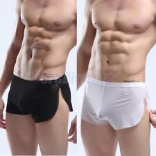 1pc Sexy Men Mesh Underwear See Through Boxers Briefs Shorts Trunks Summer Pants