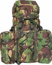 Full Size Pack British Military DPM Army Combat Rucksack Bergen 120L + Pockets