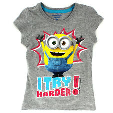 Despicable Me Minions Girls Short Sleeve Tee XUM7200F 2T 3T 4T