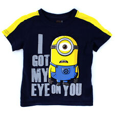 Despicable Me Minions Boys Short Sleeve Tee 4UD8901F 4UD6901F 2T 3T 4T 4 5 6 7