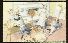Mainzer Dressed Cats,  # 4873 - at the Bakery