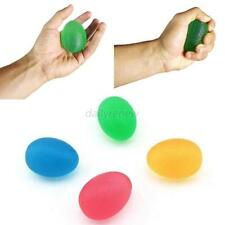 Anti Stress Reliever PU Rubber Egg Shape Ball Squeeze Relief Exercise Toys Gift