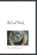 Red and Black by Grace S. Richmond (English) Hardcover Book Free Shipping!