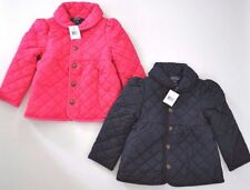 $110 RALPH LAUREN POLO GIRL QUILTED BARN JACKET COAT BOW BACK NAVY 3T 4T 5 6 6X
