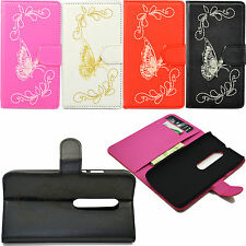 Flip Stand PU Leather Card Pouch Case Cover For Motorola Moto G 3 3rd Gen 2015