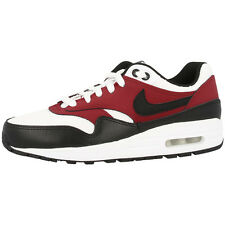 NIKE AIR MAX 1 GS SHOES TRAINERS WHITE BLACK RED 555766-117 LTD BW CLASSIC 90