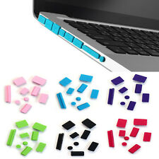 9pcs Anti-oxidation Anti-dust Silicone Plug Port Cover Set For Macbook Pro 13 15