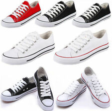 Classic New Women Lady Low Top Casual Shoes Canvas Sneakers Student Sports Shoes