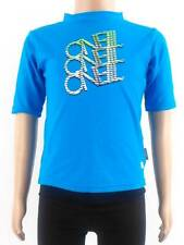 O'Neill Rashguard Skin Swimshirt blau UV Protection short sleeve Letterings