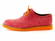 Made by Heart Budapester Lace up Shoes Shoes pink Real leather