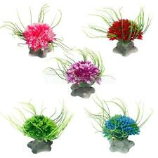 Artificial Plastic Water Seaweed Plant Grass Fish Tank Aquarium Decor 5 Colors