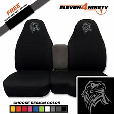91-15 Ford Ranger Black 60-40 Seat Covers W Tribal Eagle Choose From 9 colors