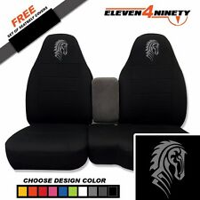 91-15 Ford Ranger Black 60-40 Seat Covers W Tribal Horse Choose From 9 colors