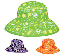 Baby Banz REVERSIBLE SUN HAT Baby/Infant/Kids Summer Head Sun Protection - New