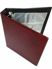 Trading Card Collectors Storage Album Binder & Protection Sleeves Padded Folder