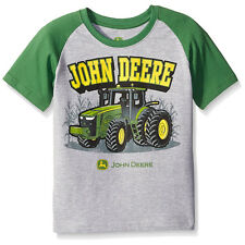 John Deere Boys Short Sleeve Tee T-Shirt Top JST357HC 4 5 6 7