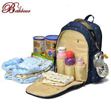 2016 Backpack Mummy Bag Baby Nappy Diaper Bag Light Changing bags Computer Bags