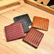 Handmade Real Tanned Leather Wallet Bifold Card Holder Case Purse for Men Women