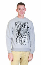 Goodsouls Mens Apache Chief Jumper In Grey