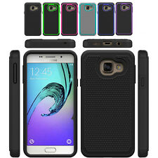 Dual Shockproof Rugged Armor Hard Protective Case Cover Samsung Galaxy A3 2016