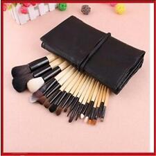 18pcs Professional Cosmetic Brushes Makeup Brush Set Kit With Case Bag YY