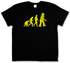 THE BIG BLACK ROBOT EVOLUTION BANG THEORY T-SHIRT - Sheldon Nerd Cooper TV Geek