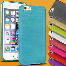 BRUSHED Case for APPLE IPHONE Series Case Silicone Pouch TPU Thin