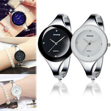 KIMIO WOMEN GIRLS CHIC CASUAL STYLE BANGLE ELEGANT QUARTZ WRIST WATCH BRACELET