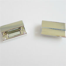 10pcs Silver Plated Copper Rectangle Magnetic Clasps For Cord Jewellery DIY 3mm