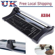 A4 A3 Precision Paper Card Trimmer Guillotine Photo Cutter Arts Crafts Office UK