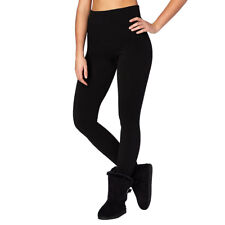 High Waist Control Tummy Support Shapewear Black Slimming Leggings Size  Womens