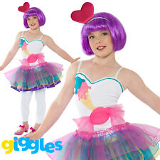 Girls Candy Costume Mini Popstar Halloween Famous Sweets Fancy Dress Tutu Outfit