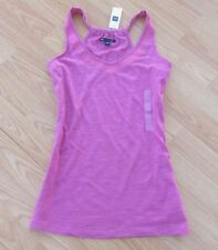 The GAP ~ NEW NWT ~ Size XS or S ~ Pink BOHO Embroidered Cut-Away Tank Shirt