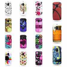 For Alcatel  T-Mobile Sparq 2 Case (II) Hard Design Slim Fit Snap On Phone Cover