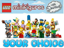 Lego Series 13 Lego Minifig YOUR CHOICE Collectible Figure CMF The Simpsons