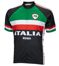 Italy Italia Roma Cycling Jersey World Jerseys Men's with Socks bike bicycle New