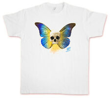 SKULL BUTTERFLY I HATE COUTURE T-Shirt Rockabilly Tattoo Old school Indie Shirt