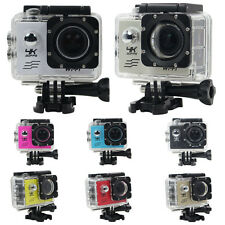 Waterproof 4K WIFI Mini Action Cam 1080P HD DV Sports Recorder Camera Camcorder