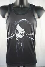AZ-418 Tommy Black Vests Tank Top The Joker Mens Dress Sleeveless Singlet Shirts