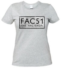 FAC 51 THE HACIENDA II GIRLIE Shirt - Fac51 Club Factory Records New Order Shirt