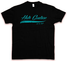 TATTOO LETTERS 83 I HC HATE COUTURE T-Shirt Rockabilly Redneck Rebel FTW Shirt