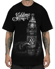 Sullen Clothing Sublime Sippin' Mens T Shirt Black Tattoo Tee