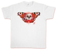 SKULL BUTTERFLY III HATE COUTURE T-SHIRT Rockabilly Tattoo Old school Indie